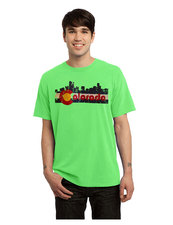 Lime Green Denver Skyline Shirt